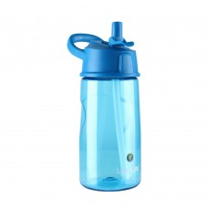 LittleLife Flip-top water bottle 550ml, Blue