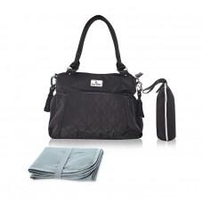 Lorelli Kristin Mama bag, black