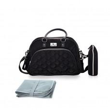 Lorelli Viola Mama bag, black