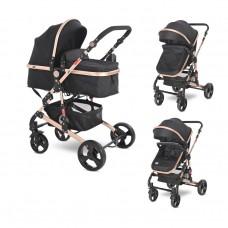 Lorelli Baby stroller Alba Classic, black