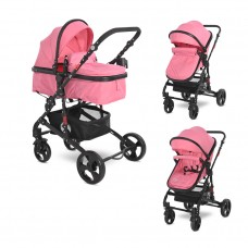 Lorelli Baby stroller Alba Classic, pink