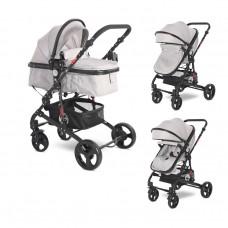 Lorelli Baby stroller Alba Classic, light grey