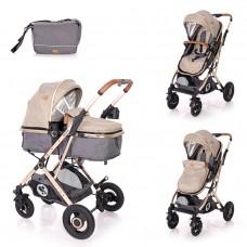Lorelli Baby stroller Sena, dark beige