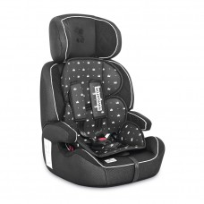Lorelli Детски стол за кола Navigator 9-36 кг колекция 2021, black crowns