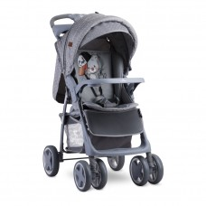 Lorelli Детска количка Foxy с покривало за крачета Grey Cool Cat