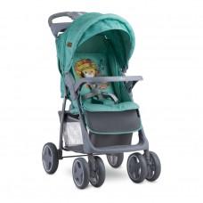 Lorelli Детска количка Foxy с покривало за крачета Green Indians