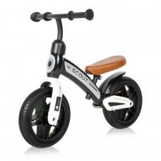 Lorelli Balance Bike Scout air wheels, black