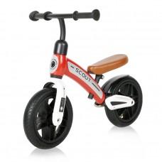 Lorelli Balance Bike Scout air wheels, red