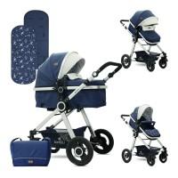 Lorelli Baby stroller Alexa Set blue