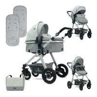Lorelli Baby stroller Alexa Set grey