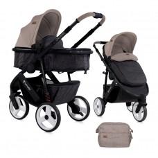 Lorelli Детска количка Calibra 2 в 1 бежова
