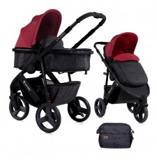 Lorelli Baby stroller Calibra 2 in 1 Red