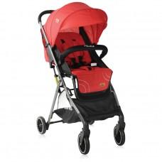 Lorelli Бебешка количка Felicia с покривало за крачета червена