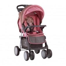 Lorelli Детска количка Foxy с покривало за крачета Beige&Pink Girl