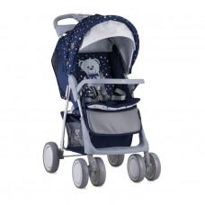 Lorelli Baby stroller Foxy Dark Blue Teddy