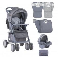 Lorelli Baby stroller Foxy Set Grey