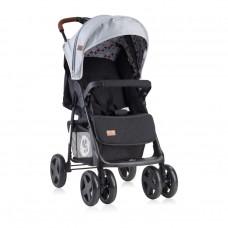 Lorelli Детска лятна количка Ines черно-сива