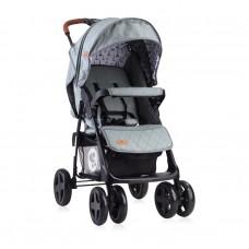 Lorelli Детска лятна количка Ines тъмносива