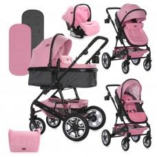 Lorelli Baby stroller Lora Set pink