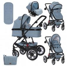 Lorelli Baby stroller Lora Set blue