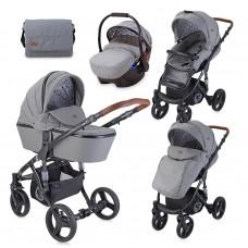 Lorelli Baby stroller Rimini dark grey