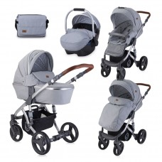 Lorelli Baby stroller Rimini grey dots