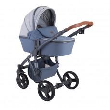 Lorelli Baby stroller Rimini Grey Rhombs