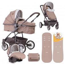Lorelli Baby stroller  S500 Set Brown