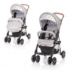 Lorelli Baby stroller Terra with Footmuff, Dark Grey Lighthouse