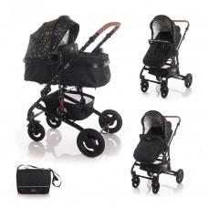 Lorelli Baby stroller Alba, black circles