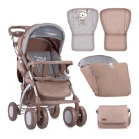 Lorelli Baby stroller Toledo with footcover Beige