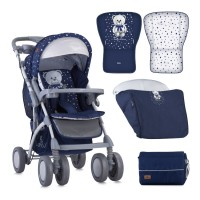 Lorelli Baby stroller Toledo with footcover Blue
