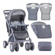 Lorelli Baby stroller Toledo with footcover Grey