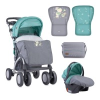 Lorelli Baby stroller Toledo with footcover Green