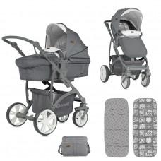 Lorelli Baby stroller Vista Grey