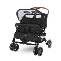 Lorelli Twin stroller Twin, Black