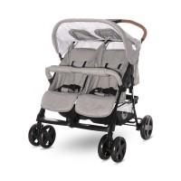 Lorelli Twin stroller Twin, Steel grey