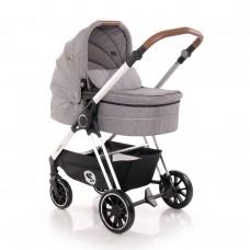 Lorelli Baby stroller Angel 3 in 1 grey