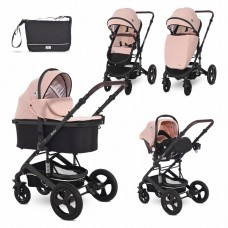 Lorelli Baby stroller Boston 3 in 1, cameo rose stars