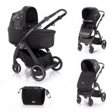 Lorelli Baby stroller California, black marble