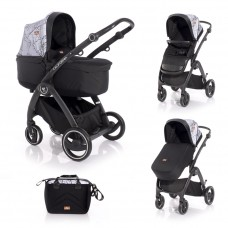 Lorelli Baby stroller California, grey marble