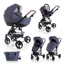Lorelli Baby stroller Crysta blue