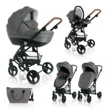 Lorelli Baby stroller Crysta grey