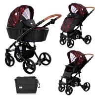 Lorelli Baby stroller Rimini, Ruby red