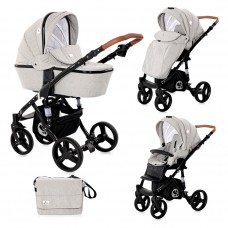 Lorelli Baby stroller Rimini, Steel grey
