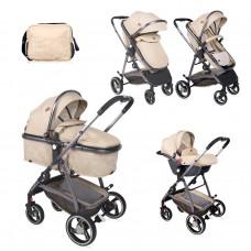Lorelli Baby stroller Sola Set beige