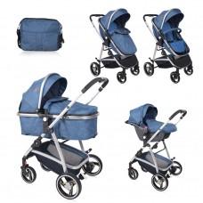 Lorelli Baby stroller Sola Set blue