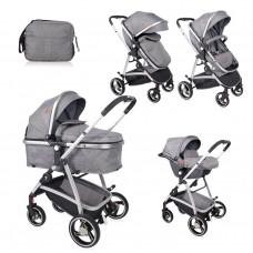 Lorelli Baby stroller Sola Set grey