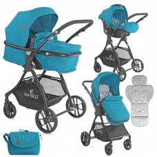 Lorelli Baby stroller Starlight Set blue