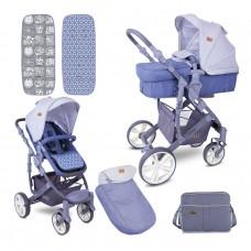Lorelli Baby stroller Verso grey
